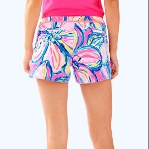 NWT! Lilly Pulitzer Adie Shorts Pink Sunset